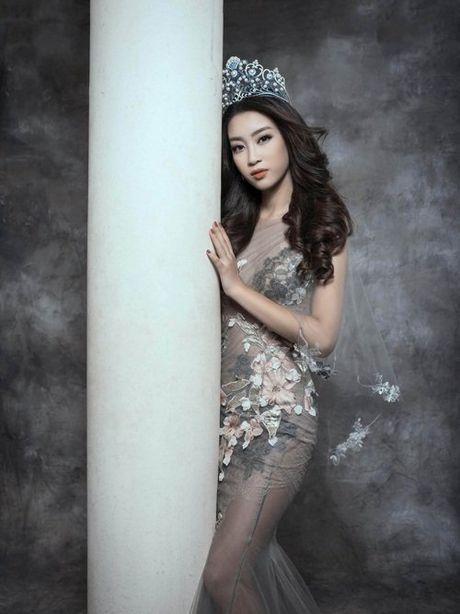Bien hoa nhan sac khong ngo cua Hoa hau My Linh - Anh 1