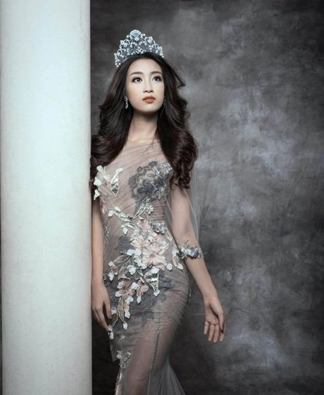 Bien hoa nhan sac khong ngo cua Hoa hau My Linh - Anh 3
