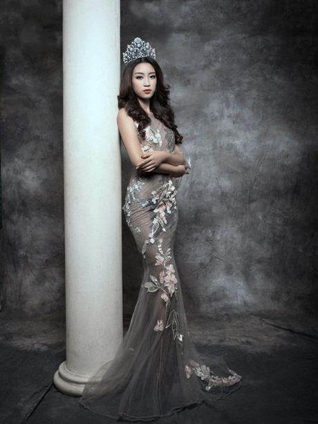Bien hoa nhan sac khong ngo cua Hoa hau My Linh - Anh 6
