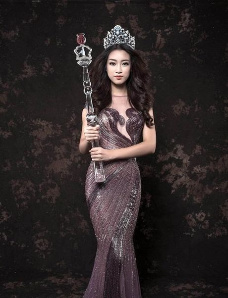 Bien hoa nhan sac khong ngo cua Hoa hau My Linh - Anh 9