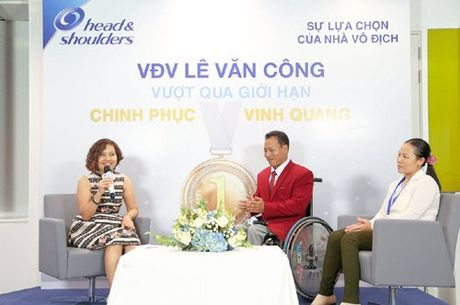 Dieu gi da lam nen nha vo dich Paralympic Le Van Cong? - Anh 1