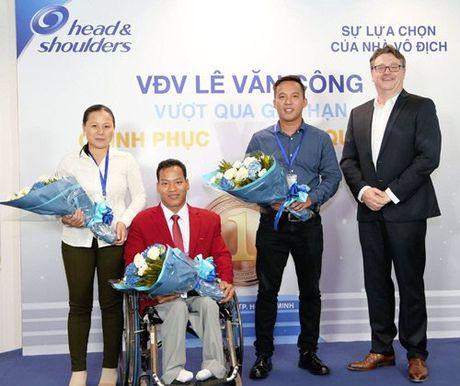 Dieu gi da lam nen nha vo dich Paralympic Le Van Cong? - Anh 3