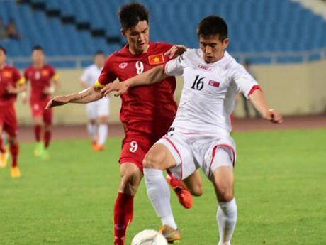 TRUC TIEP, Viet Nam 0-0 Trieu Tien: Tuan Anh & Xuan Truong da chinh (Hiep 1) - Anh 1