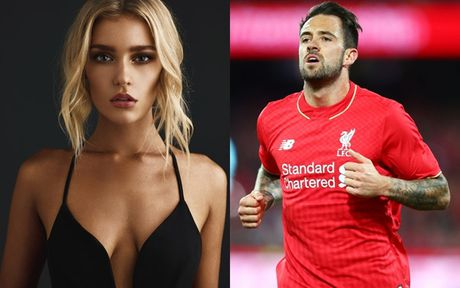 Chum anh: Ban gai sieu mau xinh nhu hoa cua 'sao xit' Liverpool - Anh 1