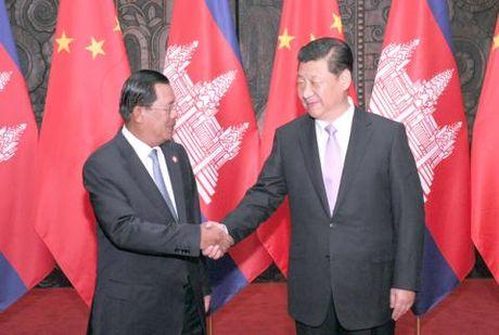 Ong Hun Sen ky vong mo cua thi truong Trung Quoc - Anh 1