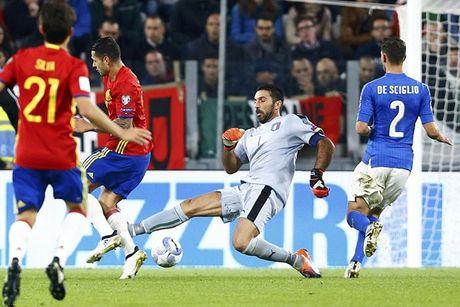 Buffon hoa toi do, Italia suyt that thu truoc Tay Ban Nha - Anh 3