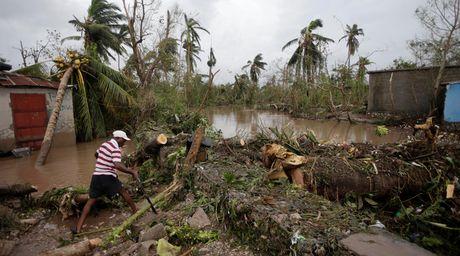 Sieu bao Matthew khien 340 nguoi thiet mang o Haiti - Anh 1