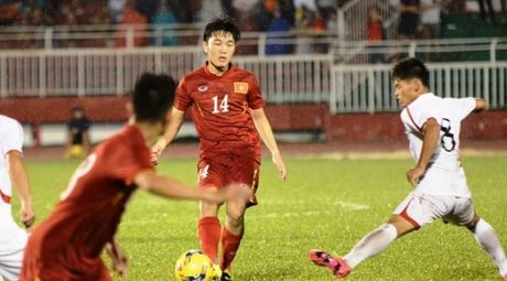 Xuan Truong xuat sac nhat tran Viet Nam vs CHDCND Trieu Tien - Anh 1
