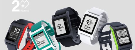 Pebble 2 bat dau cho dat truoc voi gia $129,99, co them Pebble 2 SE khong co do nhip tim voi $99,99 - Anh 1