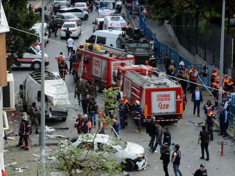 No bom o Istanbul, it nhat 5 nguoi bi thuong - Anh 1