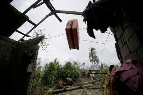 "Bao ""quai vat"" Matthew giet 283 nguoi o Haiti - Anh 1"