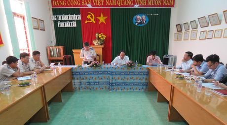Thu truong Le Tien Chau ghi nhan su no luc cua THADS Dak Lak - Anh 2