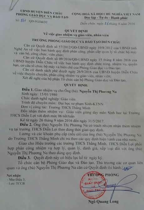 Chuyen la o Nghe An: Cu giao vien Van 'dung lop' gio Sinh hoc - Anh 2
