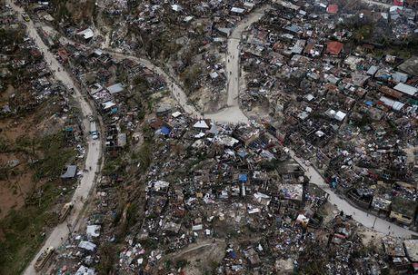 Hinh anh kinh hoang sau khi bao Mathew can quet Haiti - Anh 2