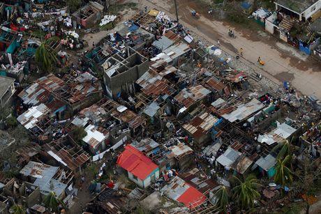 Hinh anh kinh hoang sau khi bao Mathew can quet Haiti - Anh 3