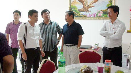 Thu truong Pham Dung kiem tra tien do hoan thien du an chung cu Bo Cong An - Anh 2
