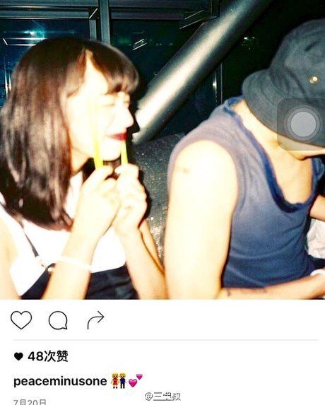 G-Dragon ro ri anh than mat voi mau Nhat sau khi bi hack tai khoan Instagram - Anh 2