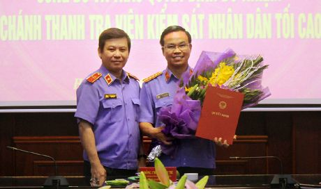 Cuu thu ky ong Ba Thanh lam Chanh thanh tra Vien kiem sat toi cao - Anh 1