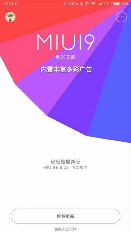 Xiaomi chuan bi ra mat MIUI 9 tren nen Android 7.0 - Anh 2