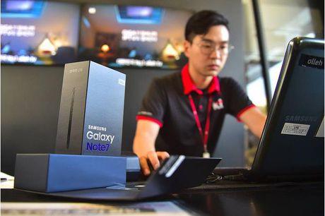 Loi nhuan Samsung van tang du phai thu hoi Note 7. Tai sao? - Anh 1