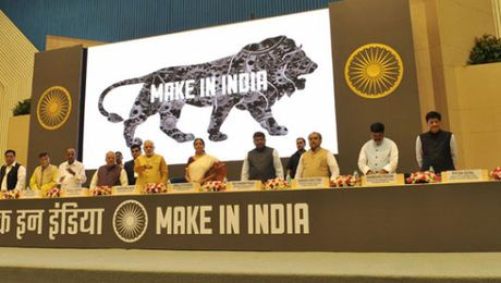An Do buoc dau thanh cong voi chien dich ''Make in India'' - Anh 1