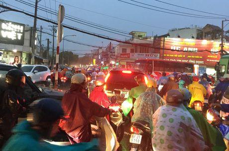 TPHCM: Ket xe khung khiep o cua ngo Sai Gon - Anh 12