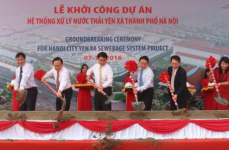 Ha Noi: Du an 800 trieu USD 'hoi sinh' song To Lich, song Lu - Anh 1