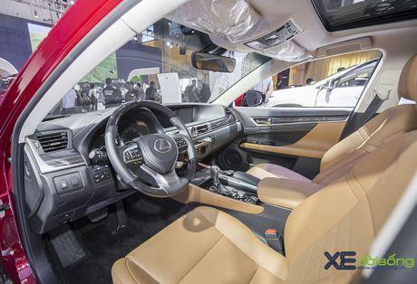 Dien kien xe sang Lexus GS Turbo 2016 moi gia 3,13 ti dong - Anh 10