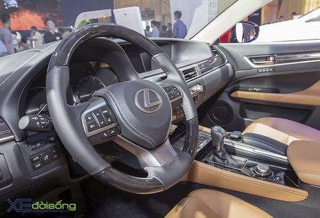 Dien kien xe sang Lexus GS Turbo 2016 moi gia 3,13 ti dong - Anh 12