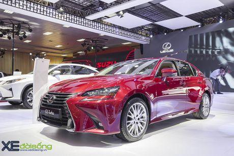 Dien kien xe sang Lexus GS Turbo 2016 moi gia 3,13 ti dong - Anh 3