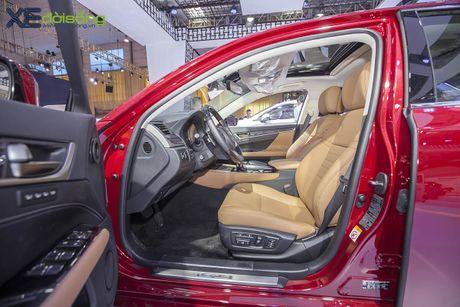 Dien kien xe sang Lexus GS Turbo 2016 moi gia 3,13 ti dong - Anh 8