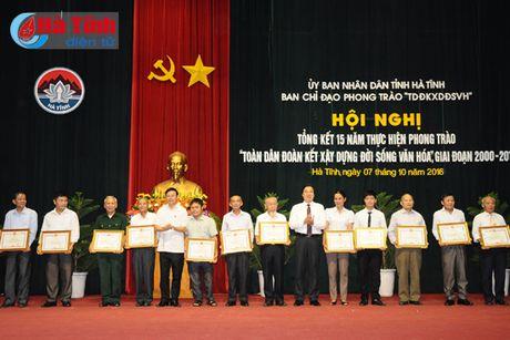 Tuyen duong 69 dien hinh doan ket xay dung doi song van hoa - Anh 12
