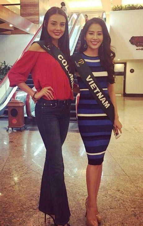 Nhung hoat dong dau tien cua Nam Em tai Miss Earth 2016 - Anh 1