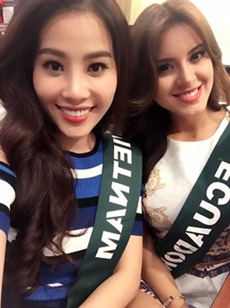 Nhung hoat dong dau tien cua Nam Em tai Miss Earth 2016 - Anh 4