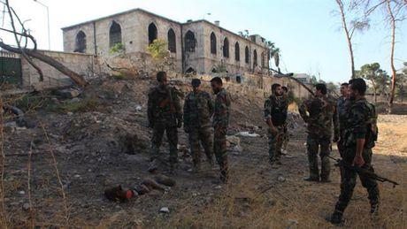 Quan doi Syria giai phong them hai khu vuc o Aleppo - Anh 1