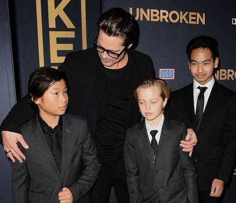 Brad Pitt khong co y dinh han gan hon nhan voi Angelina Jolie - Anh 1