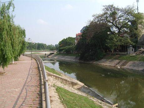 Ha Noi: Khoi cong du an he thong xu ly nuoc thai Yen Xa - Anh 1