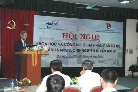 Khai mac Hoi Nghi KH&CN hat nhan can bo tre nganh Nang luong nguyen tu - Anh 1