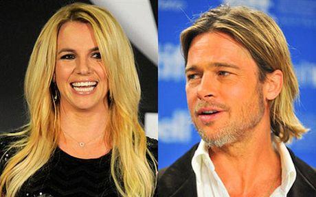Britney Spears mung vi Brad Pitt da doc than - Anh 2