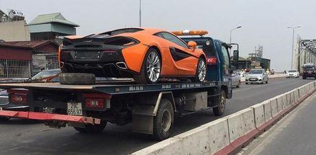 McLaren 570S thu 2 tai Viet Nam vao Sai Gon kiem chu moi - Anh 1