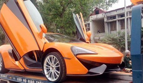 McLaren 570S thu 2 tai Viet Nam vao Sai Gon kiem chu moi - Anh 2