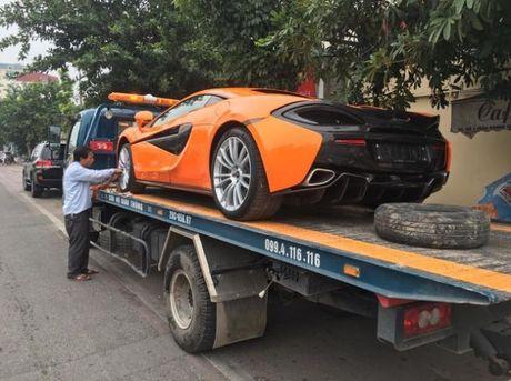 McLaren 570S thu 2 tai Viet Nam vao Sai Gon kiem chu moi - Anh 3