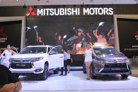 Mitsubishi noi bat cung 'doi quan Dynamic Shield' tai VMS 2016 - Anh 1