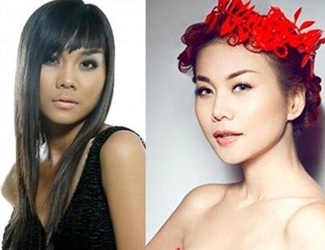 'Choang' voi nhan sac thay doi chi sau mot dem cua dan sao Viet - Anh 11