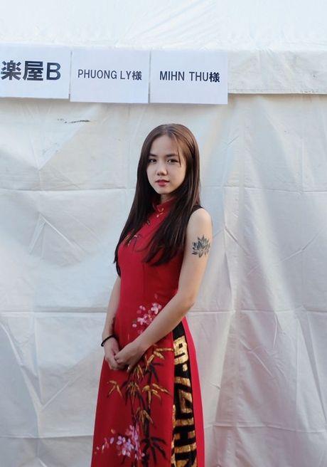 Phuong Ly duoc nguoi ham mo tai Nhat goi la 'my nhan nguoi Viet' - Anh 7