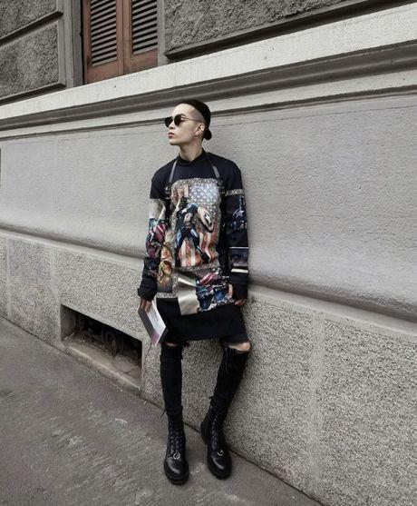 Nguoi mau va tin do thoi trang Viet thay phien nhau 'lam loan' mua Fashion Week Xuan He 2017 - Anh 23
