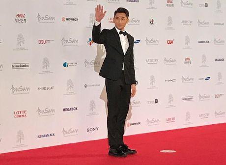 Isaac noi bat giua dan sao Han tai Lien hoan phim Busan - Anh 1