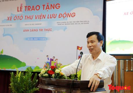 Bo truong Nguyen Ngoc Thien: 'Thu vien phai ve moi ngo ngach de phuc vu nhan dan' - Anh 1