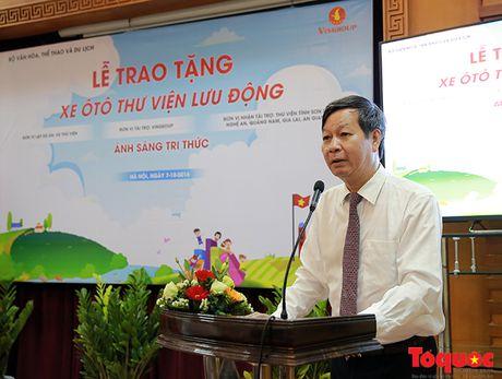 Bo truong Nguyen Ngoc Thien: 'Thu vien phai ve moi ngo ngach de phuc vu nhan dan' - Anh 3