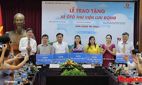 Bo truong Nguyen Ngoc Thien: 'Thu vien phai ve moi ngo ngach de phuc vu nhan dan' - Anh 5